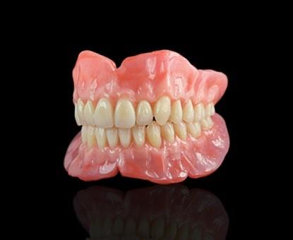 دست دندان یا دنچر (Denture) فک بالا و پایین