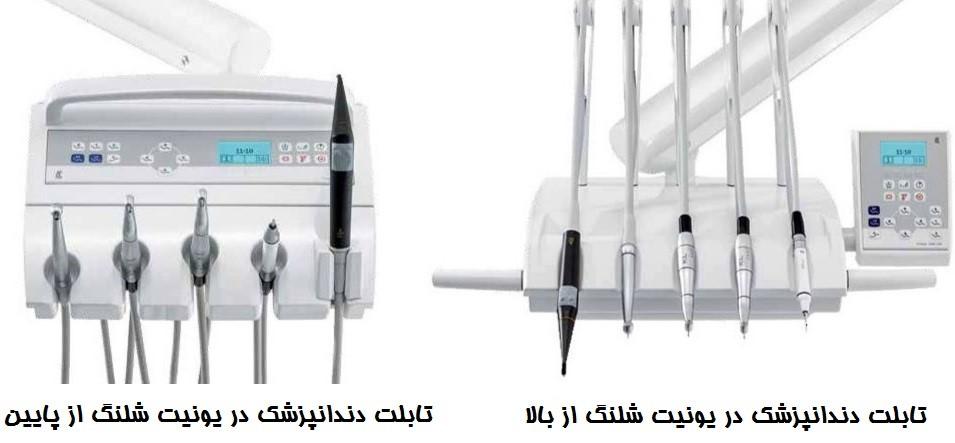 انواع یونیت های دندانپزشکی و تفاوت آنها با همدیگر