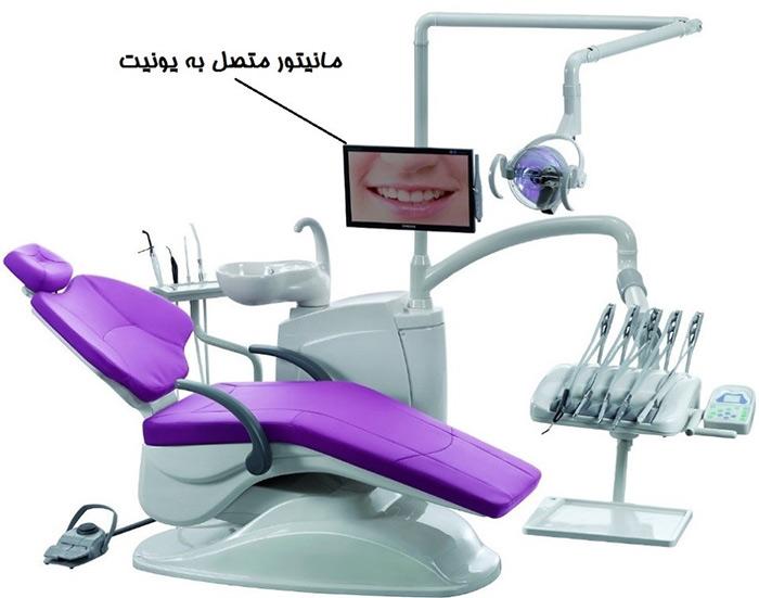 معرفی مانیتور یونیت دندانپزشکی
